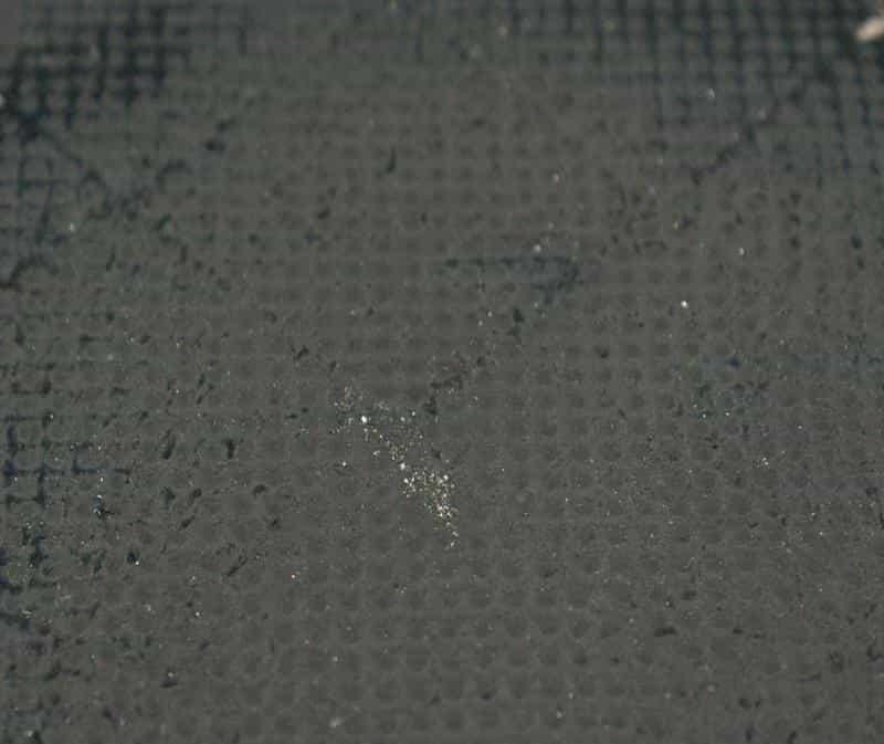DPF Oberfläche verschmutzter Zustand